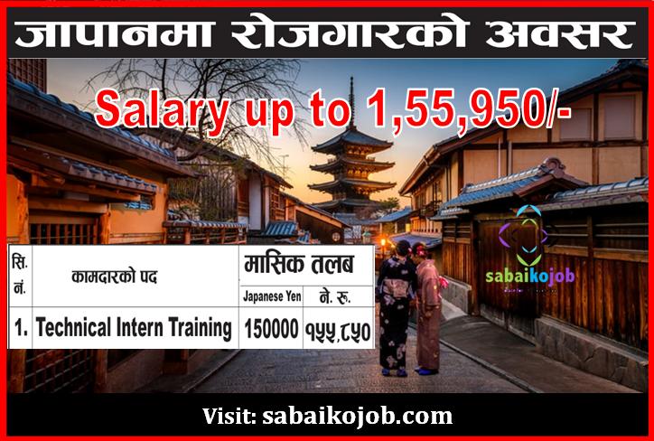 Job Vacancy at Japan