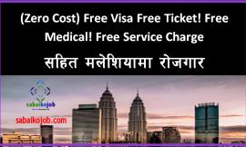 Free Visa Free Ticket For Malaysia