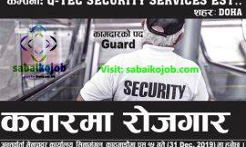 Job at Security Service,Qatar