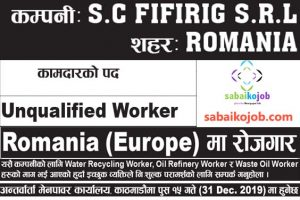 Read more about the article Job For Unqualified Worker in Romania