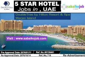 Read more about the article Job at Double Tree by Hilton Resort & Spa Marjan Island