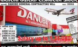 Job in Qatar at Various Post | Salary up to 131,080/-
