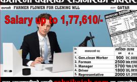 Job in Qatar at Various Post | Salary up to 177,610/-