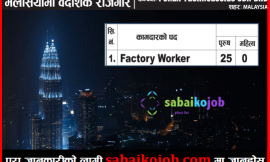 Job in Malaysia | Vacancies for Factory Worker at Porex Technologies