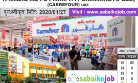 Job at Carrefour hypermarkets in uae