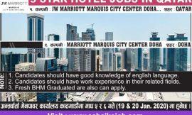 Job at Qatar | JW Marriott Marquis City Center Doha