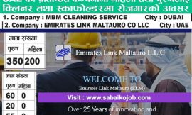 job at Emirates Link Maltauri Co | MBM Cleaning service
