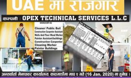 Job at UAE | Opex Technical Services L.L.C