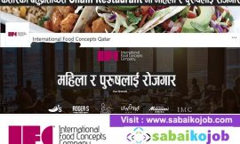 Job at Most prestigious Chain Restaurant in Qatar
