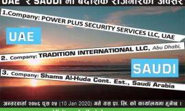 Job Opportunity in UAE and SAUDI