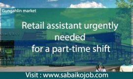 Work as Retail Assistant