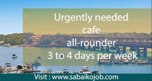 Read more about the article Work at Cafe