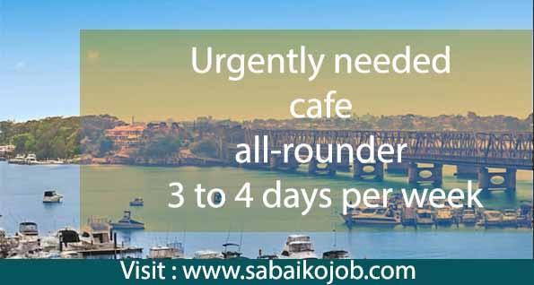Work at Cafe