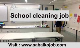 School Cleaner Needed in Perth