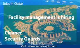 Facility Management is Hiring
