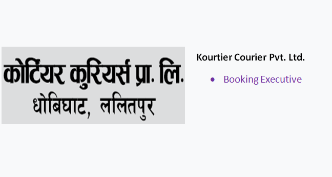 Vacancy for Booking Executive at Kourtier Courier