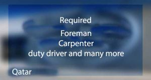 Read more about the article Various job vacancy in Qatar
