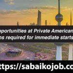 Career Opportunities at Private American University