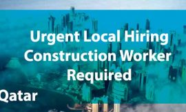 Construction worker required