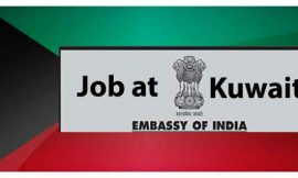 Vacancy at Embassy of India-Kuwait