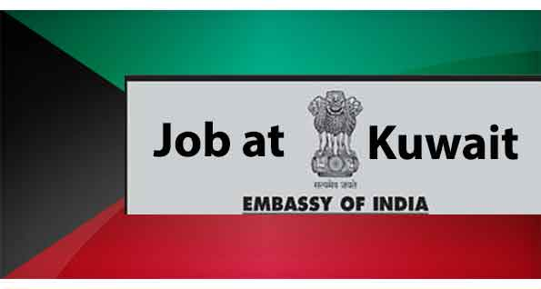 Read more about the article Vacancy at Embassy of India-Kuwait