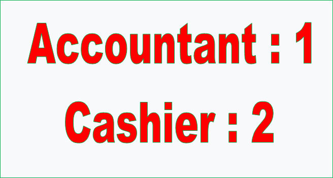 Accountant-1 & Cashier-2 wanted at Foodjang (Foodcall) Pvt.