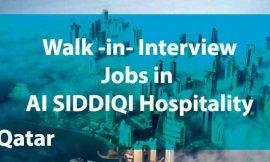Jobs in AI SIDDIQI Hospitality