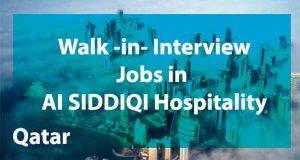 Read more about the article Jobs in AI SIDDIQI Hospitality