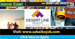 Read more about the article Job at DESERT LINE PROJECTS WLL DOHA