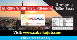 Read more about the article Romania work visa