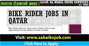 Read more about the article Labourer | Driver(Bike)