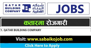 Read more about the article Job Vacancy at QATAR BUILDING COMPANY