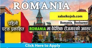 Read more about the article Employment Opportunities in UMAN CARE RECRUITING S.R.L Romania Bucharest