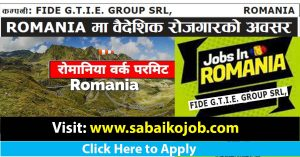 Read more about the article Work Visa for Romania