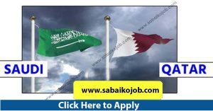 Read more about the article Employment in Reputed company in Qatar and Saudi arabia