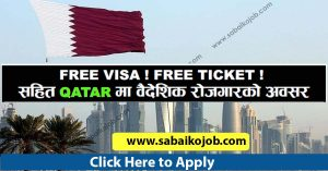 Read more about the article Free visa Free Ticket for CAT INTERNATIONAL QATAR