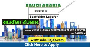 Read more about the article Scaffolder Laborer