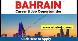 Read more about the article Job Alert ! Vacancy Announcement From Bahrain