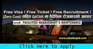 Read more about the article Free Visa/Free Ticket Get Jobs in Qatar (Zero Cost)