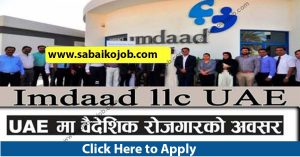 Read more about the article Attractive jobs in Uae, IMDAAD L.L.C. (UAE)