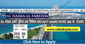 Read more about the article SECURITY GUARD JOBS IN UAE, Demand of 350 people