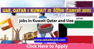 Read more about the article Recruiting for UAE QATAR and SAUDI ARABIA