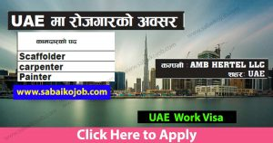 Read more about the article Job Vacancy at AMB HERTEL LLC UAE